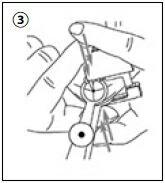 ピアッシングの手順(3)
